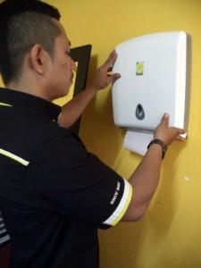Product - C-fold Tissue Dispenser